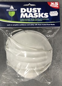 Dust Masks x 5